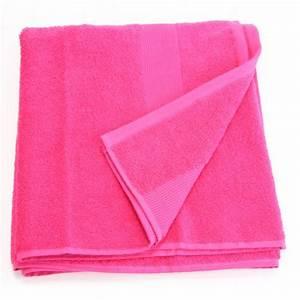 serviette de bain 70 x 130 cm framboise achat With serviette de bain algerie