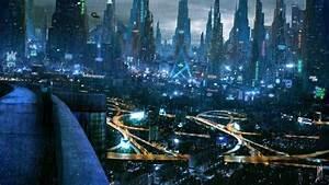 Cyberpunk Atmosphere, Future City, Futuristic Architecture ...