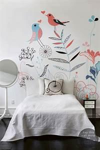 deco chambre bebe archives le blog deco de mlc With papier peint chambre de fille