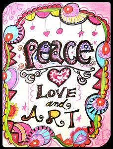 Love And Peace : peace love and art marcia beckett ~ A.2002-acura-tl-radio.info Haus und Dekorationen