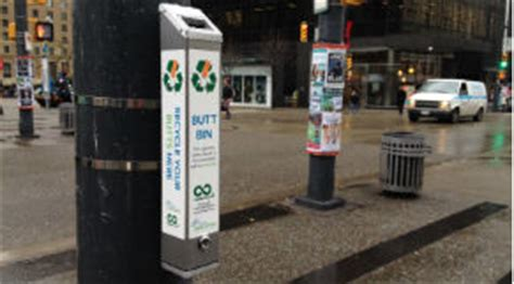 city terracycle launch cigarette butt collection recycling