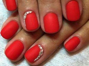Матовые красные ногти идеи дизайна новинки 2020 фото