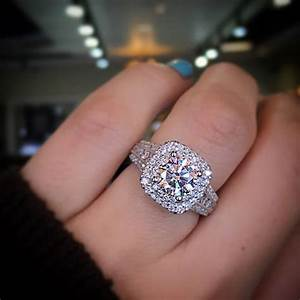 Gabriel ny double halo engagement ring the best of for Wedding ring companies