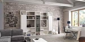 Mur Brique Salon : mur brique de parement stunning pour le mur du living ~ Zukunftsfamilie.com Idées de Décoration