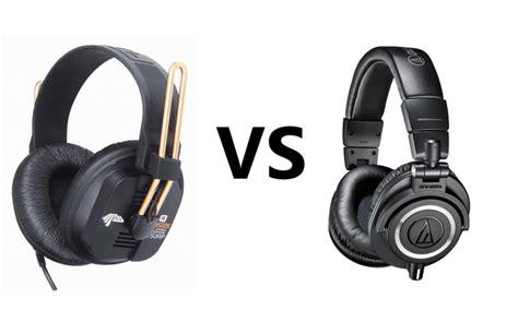 fostex t50rp vs audio technica m50x comparison review gearopen