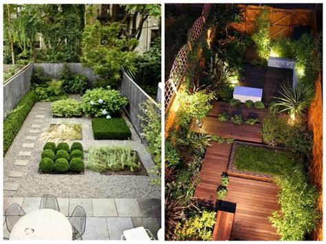 decoration cour  terrasse