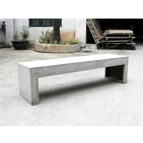 banc beton banc en b 233 ton design by drawer