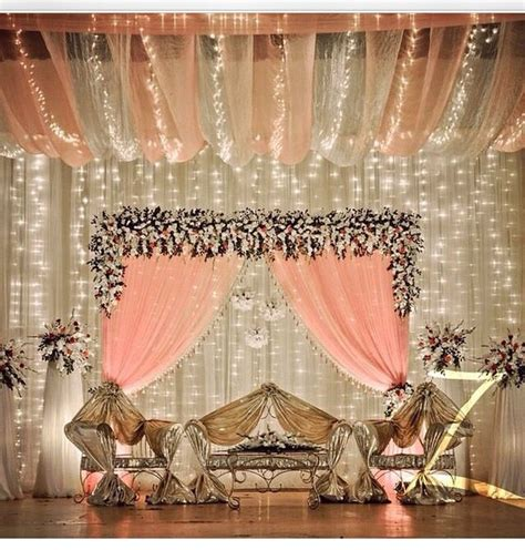 Pakistani wedding decor ideas #elegant Wedding decor