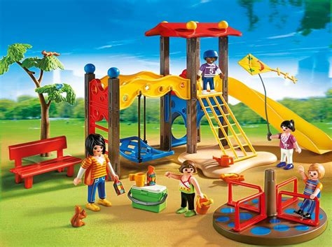 backyard playset amazon com playmobil playground set toys