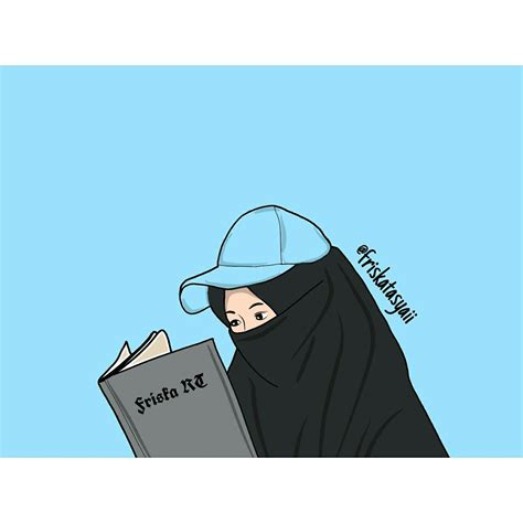kartun muslim bercadaratfriskart kartun gambar animasi