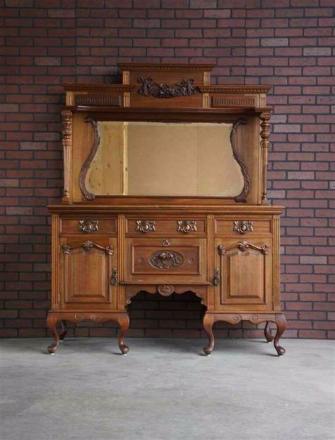 Antique Sideboards Buffets by Antique Sideboard Buffet Hutch Antique