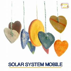 Love Your Planet  Clay Hearts Solar System Project