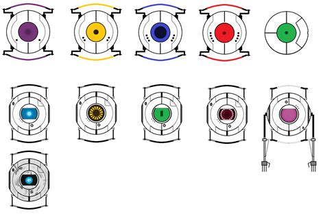 Portal Personality Cores 2 By Kirbychu On Deviantart