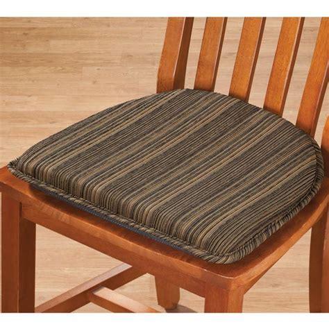 Harmony Chair Pad   Striped Chair Pad   Chair Pads   Miles