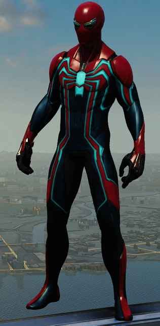 marvels spider man   suits outfits costumes