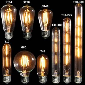 Ampoule Vintage Led : e27 vintage edison warm yellow cob led light lamp bulbs ~ Edinachiropracticcenter.com Idées de Décoration