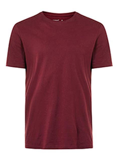 burgundy t shirt s burgundy crew neck t shirt topman