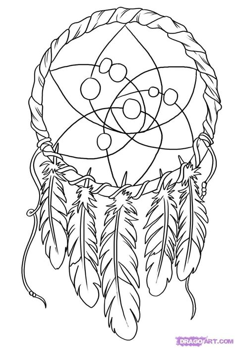 Coloring Pages Dream Catchers - Coloring Home