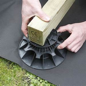 Lambourde Pour Terrasse Bois : plot pour terrasse nivo h40 60mm plot pour lambourdes ~ Premium-room.com Idées de Décoration