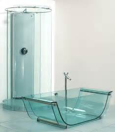 Glass Bathtub by Prizmastudio Prizma Presents A Complete Glass Bathroom