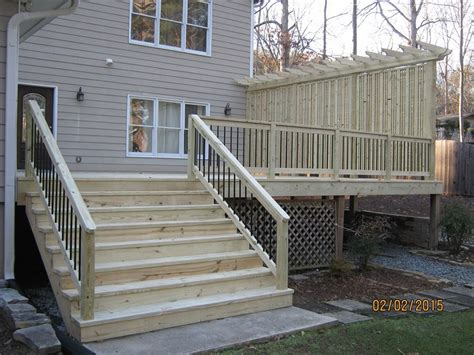 deck railing ideas for privacy privacy screen for deck railing