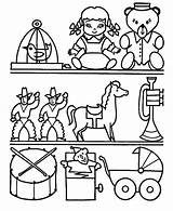 Coloring Toys Pages sketch template