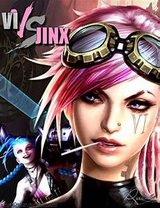 Vi VS Jinx - League of Legends by RudyDesign on DeviantArt