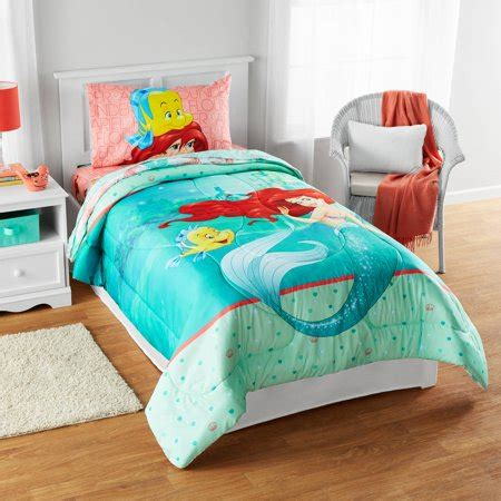 mermaid comforter set disney mermaid quot besties chill together quot reversible