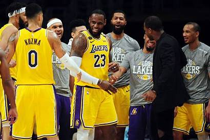 Lakers Lebron James Team Signing Owner Angeles