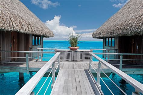 Tahiti's Iconic Over-water Bungalows Are 50 Years Old