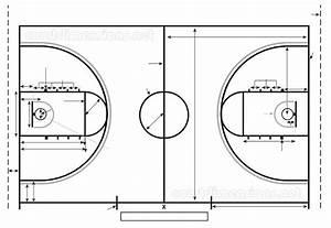 Basketball Court Dimensions  U0026 Measurements
