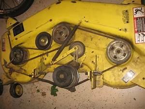 John Deere 318 48 Mower Deck