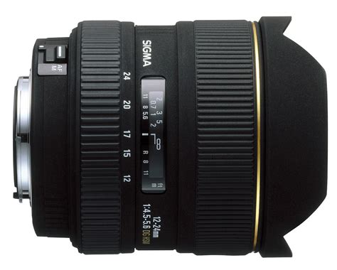sigma 24mm f 1 4 dg hsm sigma 12 24mm f 4 5 5 6 ex dg hsm specifications and