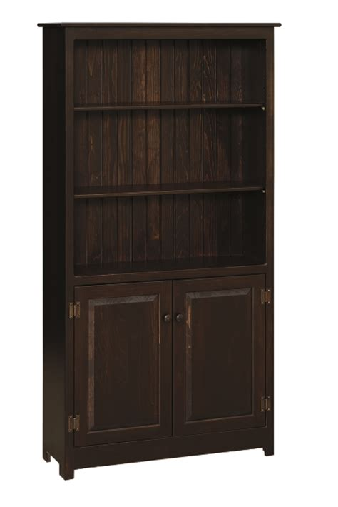 Unfinished Bookcases With Doors by 6 Bookcase With Doors Bookcases