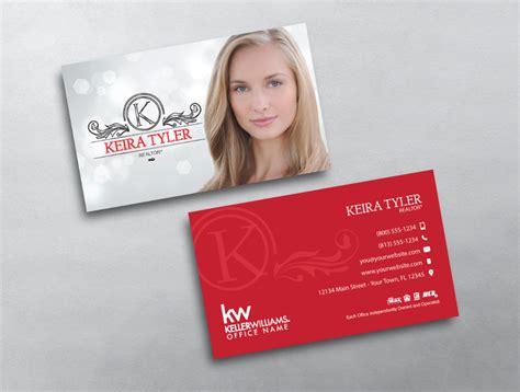 elegant  beautiful keller williams business card