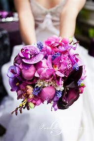 Pink Purple Wedding Bouquet