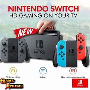 Qoo10 NEW Nintendo Switch w Grey