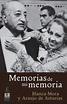 MEMORIAS DE MI MEMORIA. BLANCA MORA Y ARAUJO DE ASTURIAS ...
