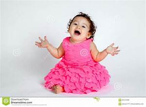Super Cute Baby Surprise stock image. Image of laughing ...
