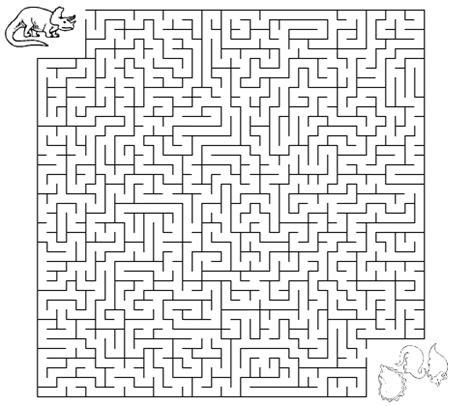 Dinosaur Maze Worksheet  Dinosaurs  Maze Worksheet, Maze, Worksheets