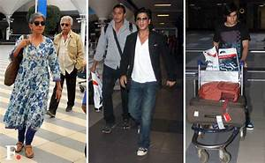 Photos: SRK, Naseeruddin Shah spotted on their return to ...