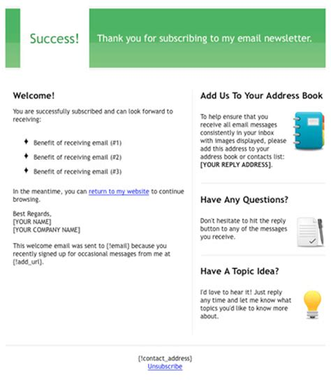 welcome email template free html email template quot welcome quot email marketing tips
