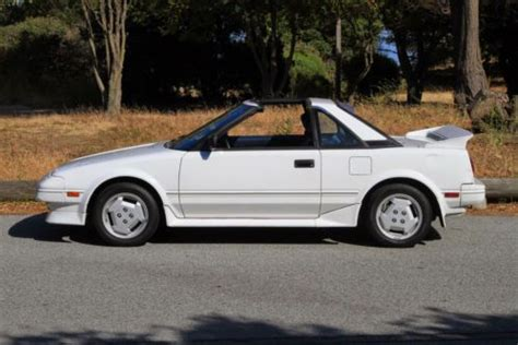toyota two seater sports car find used 1987 toyota mr2 t bar manual 2 seater sports