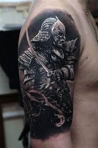 40 Katana Tattoo Designs For Men - Japanese Sword Ink Ideas