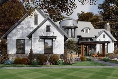 Farmhouse Plan Plans Contemporary Houseplans Silo Bath