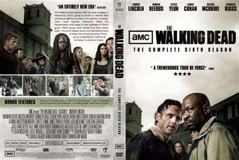 the walking dead season 6 dvd covers labels by covercity