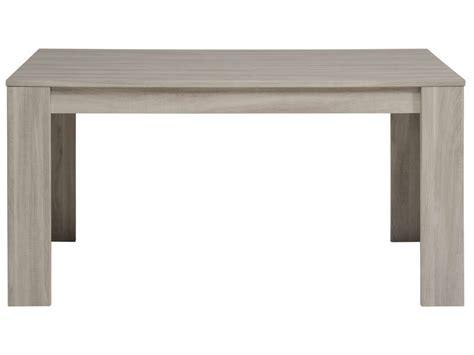conforama ch canapé table rectangulaire 160 cm allonge en option warren