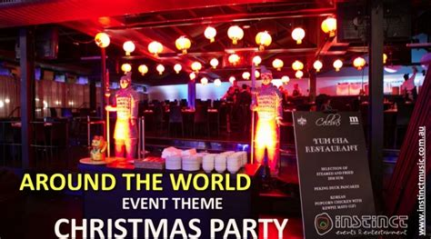 christmas party corporate event theme ideas  melbourne