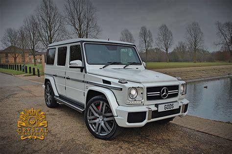 White Mercedes Gwagon Amg Chauffeur Wedding Car Hire