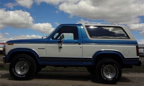 find  original  ford bronco xlt   caldwell